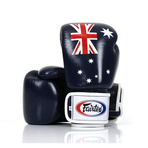 Fairtex   限量款 澳洲國旗 拳擊手套 (BGV1 AUS flag)-12oz