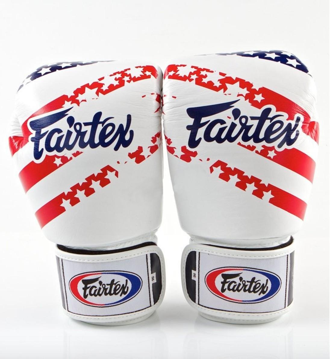 Fairtex | 限量款 美國國旗 拳擊手套 (BGV1 USA flag)-12oz