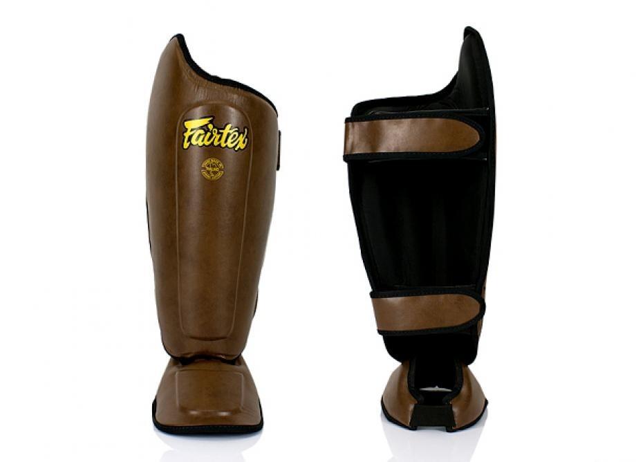 Fairtex | 限量款 經典皮革 腳背可拆式護腳脛 (SP8)