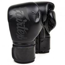 Fairtex | 限量款 超細纖維 拳擊手套 (BGV14SB)-低調霧黑-12oz